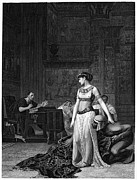 Gerome Photo Prints - Cleopatra Vii (69-30 B.c.) Print by Granger