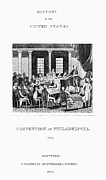 Constitutional Convention Framed Prints - Constitutional Convention Framed Print by Granger