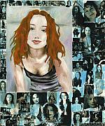 Tori Amos Posters - Cornflake Rebel Poster by Megan Welcher