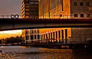 Canary Metal Prints - Docklands London Metal Print by Dawn OConnor