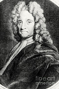 Halley Framed Prints - Edmond Halley, English Polymath Framed Print by Science Source