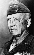George Patton Framed Prints - General George S. Patton Jr. 1885-1945 Framed Print by Everett