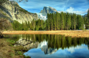Half Dome Photos - Half Dome by Marc Bittan