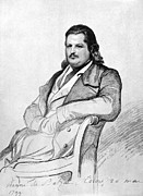 Balzac Photo Posters - HONORE de BALZAC (1799-1850) Poster by Granger