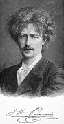 Autograph Framed Prints - Ignace Jan Paderewski Framed Print by Granger
