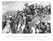 1857 Framed Prints - India: Sepoy Rebellion, 1857 Framed Print by Granger