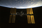 Space Art - International Space Station by Stocktrek Images