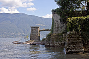 Old Bridge Framed Prints - Isole di Brissago Framed Print by Joana Kruse