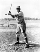 Athlete Photos - Jackie Robinson (1919-1972) by Granger