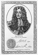 Autograph Framed Prints - James Ii (1633-1701) Framed Print by Granger