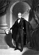 Thomas Sully Prints - James K. Polk (1795-1849) Print by Granger
