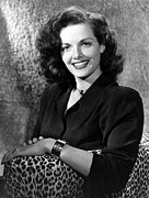 Bracelet Framed Prints - Jane Russell, Portrait Framed Print by Everett