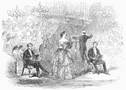 Conducting Prints - Jenny Lind (1820-1887) Print by Granger