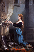 Christian Artwork Photo Metal Prints - Joan Of Arc, French National Heroine Metal Print by Photo Researchers