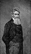 Abolition Photo Framed Prints - John Brown (1800-1859) Framed Print by Granger