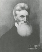 Slavery Art - John Brown, American Abolitionist by Photo Researchers