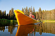 North Fork Prints - Kayaking Print by Mark Weber