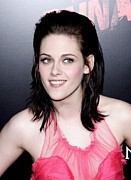 Slicked Back Hair Posters - Kristen Stewart At Arrivals For The Poster by Everett