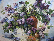 Lilacs Framed Prints - Lilacs Framed Print by Tigran Ghulyan