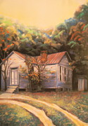 Artist Curtis James Pastels - Linda Brown You Are Not Alone by Curtis James