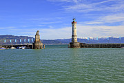 Lindau Framed Prints - Lindau Framed Print by Joana Kruse
