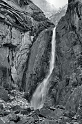 High Sierra Metal Prints - Lower Yosemite Falls Metal Print by Stephen  Vecchiotti
