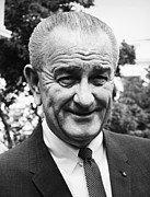 Lyndon Art - Lyndon Baines Johnson by Granger