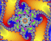 Repetition Photos - Mandelbrot Fractal by Friedrich Saurer