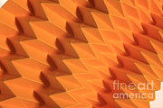 Surface Design Posters - Mathematical Origami Poster by Ted Kinsman