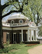 Palladian Prints - Monticello, The Home Built By Thomas Print by Everett