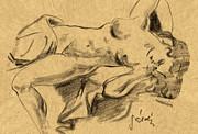 Nude Girl Print by Odon Czintos