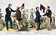 Liberated Prints - Presidential Campaign, 1864 Print by Granger