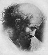 Irrational Photo Framed Prints - Pythagoras, Greek Mathematician Framed Print by Science Source