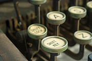 Typewriter Keys Photos - Remington 10 Detail by Kay Lovingood