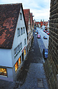Rothenburg Posters - Rothenburg Medieval old town  Poster by Amit Strauss