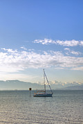 Soft Light Art - Sailing Boat by Joana Kruse