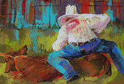 Steer Pastels - 6 Second Takedown by Jo Ann Sullivan