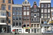 Gabled Prints - Streets of Amsterdam Print by Andre Goncalves