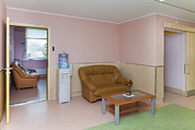 Building Feature Photo Prints - The Nursing Centre A Building In Pärnu Print by Jaak Nilson
