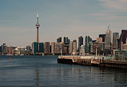 Business-travel Framed Prints - Toronto skyline Framed Print by Blink Images