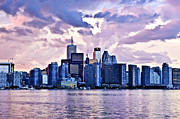 Harbour Prints - Toronto skyline Print by Elena Elisseeva
