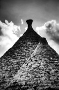 Stone Chimney Prints - Trulli Print by Joana Kruse