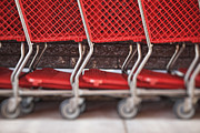 Shopping Cart Prints - Untitled Print by Bryan Mullennix