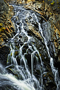 Rushing Photo Prints - Waterfall Print by Elena Elisseeva
