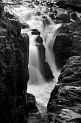 Hill Side Posters - Waterfall Poster by Svetlana Sewell