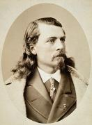 Buffalo Bill Cody Framed Prints - William F. Cody (1846-1917) Framed Print by Granger