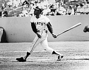 San Francisco Giants Photo Prints - Willie Mays (1931- ) Print by Granger