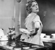 Housewife Art - Silent Film Still by Granger
