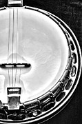 Resonator Metal Prints - 60s Gibson Banjo Metal Print by Micah May