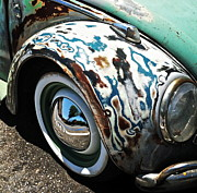 Wing Mirror Photos - 61 Volkswagon Bug by Gwyn Newcombe